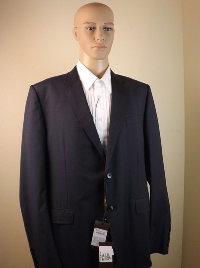 Gucci Black / Gray Wool Classic Stripe Two Button Suit Eur 58 R/ Us 48 #353238 Tuxedo Image 5