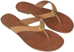 65a0fd62bf50 Tory Burch royal tan Sandals - item med img. Tory Burch. Royal Tan Flat  Thora Leather Sandals. Size  US 7.5