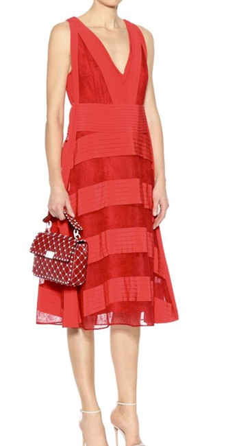 RED Maxi Dress by Valentino Runway Spring/Summer 2018 New Condition Image 2