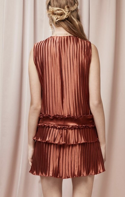 Finders Keepers Minidress Shimmer Ruffle Dress Image 1
