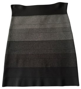 BCBGMAXAZRIA Skirt Gray Multi