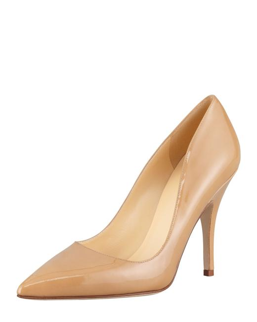 Item - Canel New York Licorice Patent Pointed-toe Pumps Size US 10.5 Regular (M, B)