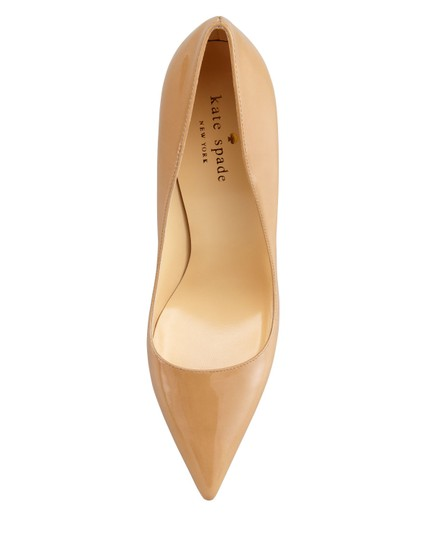 Kate Spade Patent Leather Stilleto Pointed Toe Canel Pumps Image 3