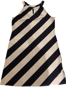 Jude Connally short dress Navy & White Stripes Nautical on Tradesy