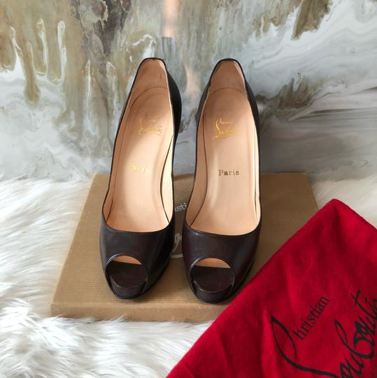 Christian Louboutin brown Pumps Image 1