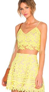 Lovers + Friends Lace Crop Two Piece Set Matching Set Revolve Top Sunshine