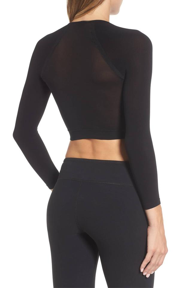 07e3624320c Spanx Arm Tights Opaque Layering Black Top - Tradesy