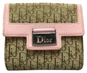 Dior Dior pink and brown Wallet