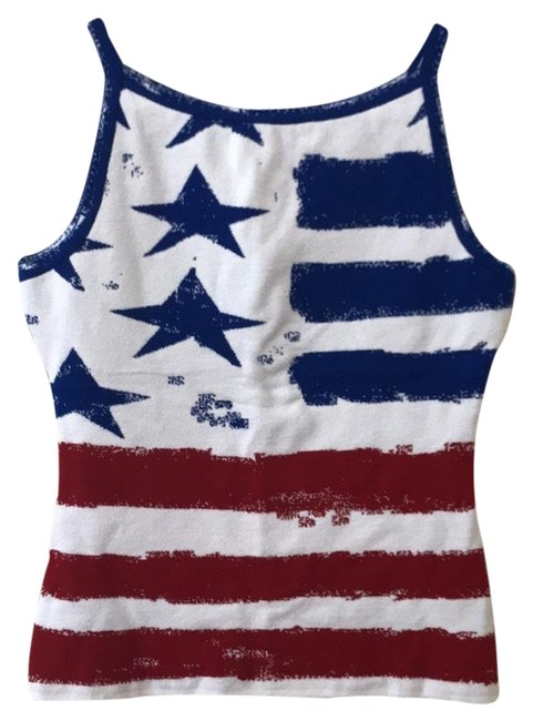 Preload https://img-static.tradesy.com/item/23443172/red-white-and-blue-american-flag-tank-topcami-size-4-s-0-2-650-650.jpg