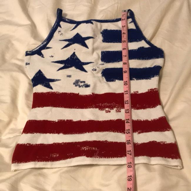 Angelica-Val Top red white and blue Image 4