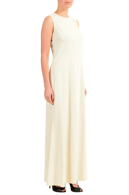 Off-White Maxi Dress by MM6 Maison Martin Margiela Image 1