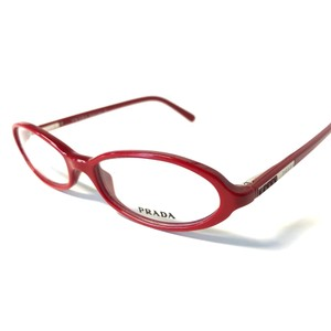Prada Prada Women's eyeglasses Red with Crystals