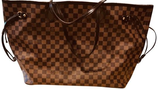 Preload https://img-static.tradesy.com/item/23443590/louis-vuitton-neverfull-n41357-2016-nm-gm-damier-brown-leather-tote-0-1-540-540.jpg