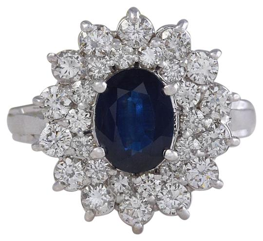 Preload https://img-static.tradesy.com/item/23443635/white-gold-270ct-natural-blue-sapphire-and-diamond-14k-solid-ring-0-1-540-540.jpg
