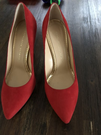 Charlotte Olympia Red Pumps Image 1