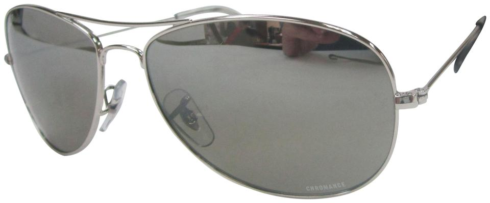 19c26ab9bd3 Ray-Ban Silver Made In Italy Chromance Rb3543 Pol. Unisex Sunglasses Sta525  Sunglasses