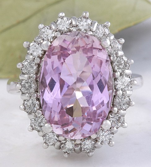 Preload https://img-static.tradesy.com/item/23443913/white-gold-1202-carat-natural-pink-kunzite-and-diamond-14k-solid-ring-0-0-540-540.jpg