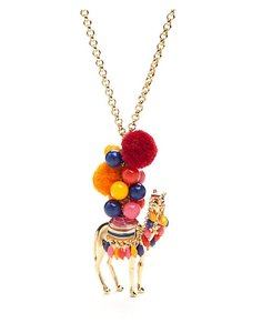 Kate Spade Kate spade spice things up colorful camel long necklace