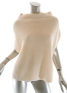 Brunello Cucinelli Cashmere Rib Funnel Neck Sequins Sweater