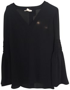 Michael Kors Night Out Date Night Top Black