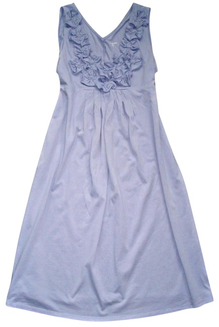 Preload https://img-static.tradesy.com/item/23444364/garnet-hill-bluish-lavender-jersey-knit-sleeveless-rosette-day-sundress-m-mid-length-short-casual-dr-0-1-650-650.jpg