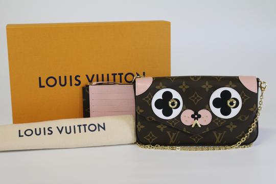 Louis Vuitton Felicie Dog Valentine Collection Dog Lv Dog Cross Body Bag Image 8