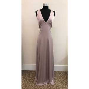 Monique Lhuillier Lilac 450494 Modern Bridesmaid/Mob Dress Size 6 (S)