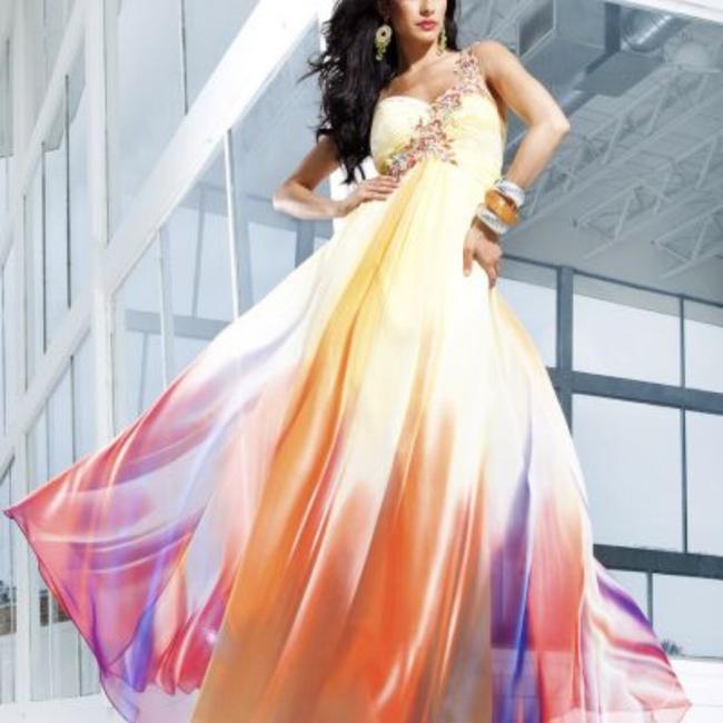 Preload https://img-static.tradesy.com/item/23444658/tony-bowls-multi-color-prom-long-formal-dress-size-14-l-0-0-650-650.jpg