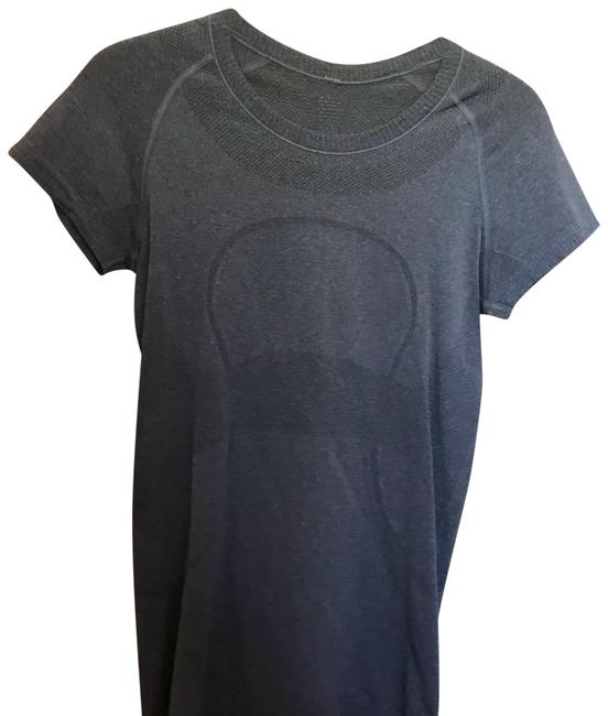 Item - Gray Swiftly Sleeve Activewear Top Size 6 (S)