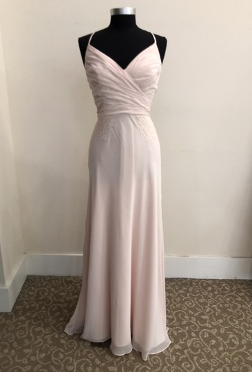 Preload https://img-static.tradesy.com/item/23444778/theia-ballet-slipper-light-pink-lace-detail-910168-formal-bridesmaidmob-dress-size-6-s-0-0-540-540.jpg