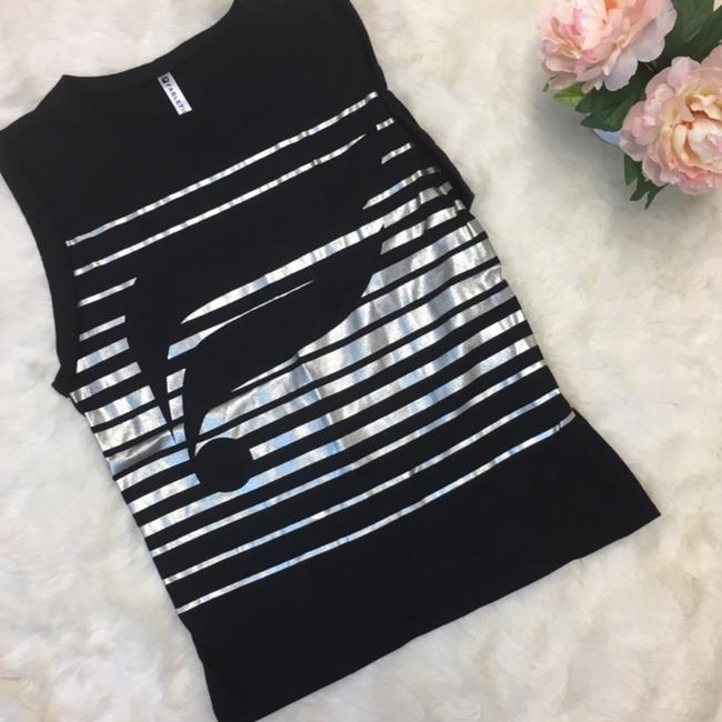 Fabletics Fabletics McKinney black and silver muscle top Image 3