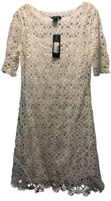 Ralph Lauren short dress White Lace Summer on Tradesy Image 0