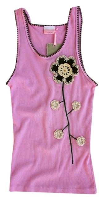 Preload https://img-static.tradesy.com/item/23445021/pink-ribbed-daisy-embroidered-tank-topcami-size-8-m-0-1-650-650.jpg
