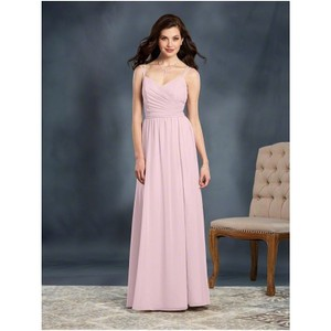 bd81299c348 Alfred Angelo Ballerina Chiffon 7371 Traditional Bridesmaid Mob Dress Size  12 (L)