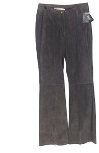 Wilsons Leather Straight Pants Brown