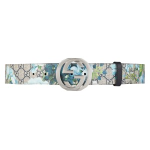 Gucci Gucci Women's Blooms GG Belt 411924 Size: 85/36