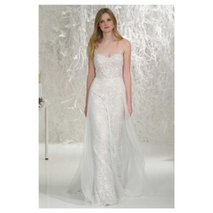 Wtoo Ivory Tulle Lace Willowby Marseille Destination Wedding Dress Size 6 (S)