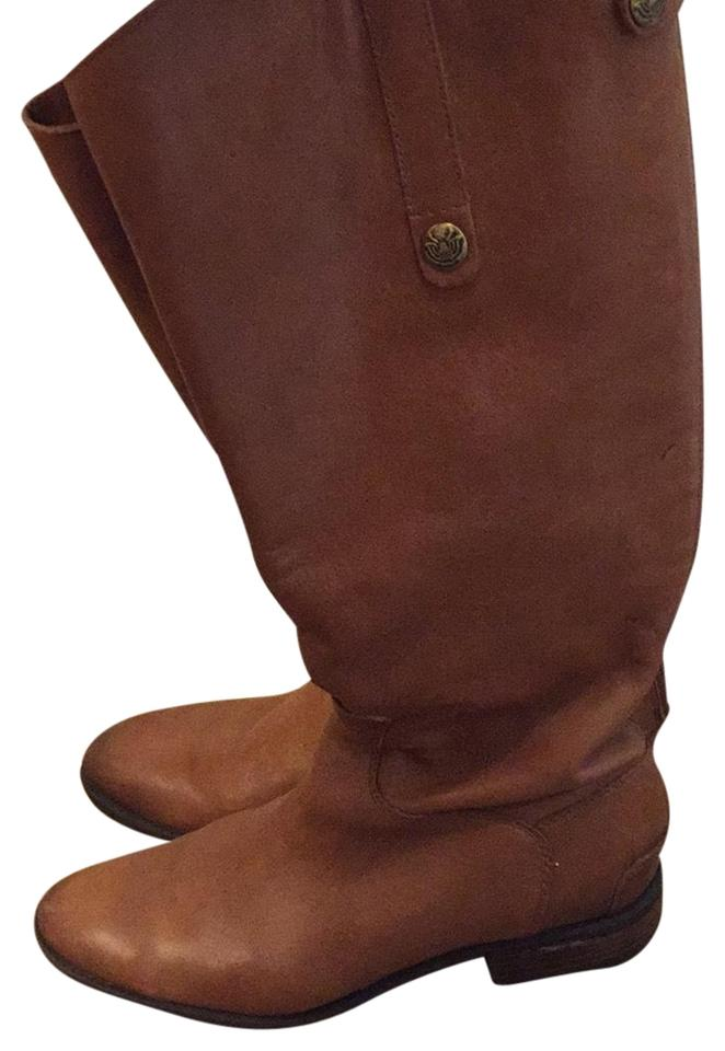 0d07c77b1adb Sam Edelman Whiskey Penny Leather Riding Boots Booties Size US 9 ...