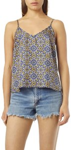 Nieves Lavi Top Blue/Gold