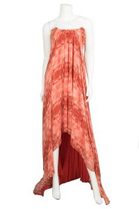 red Maxi Dress by Christian Siriano