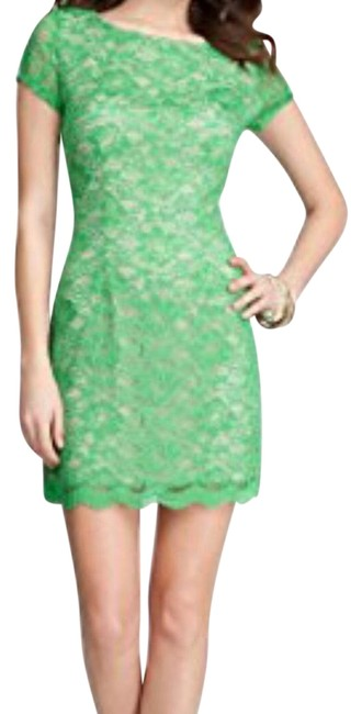 Item - Green Lace Short Night Out Dress Size 2 (XS)