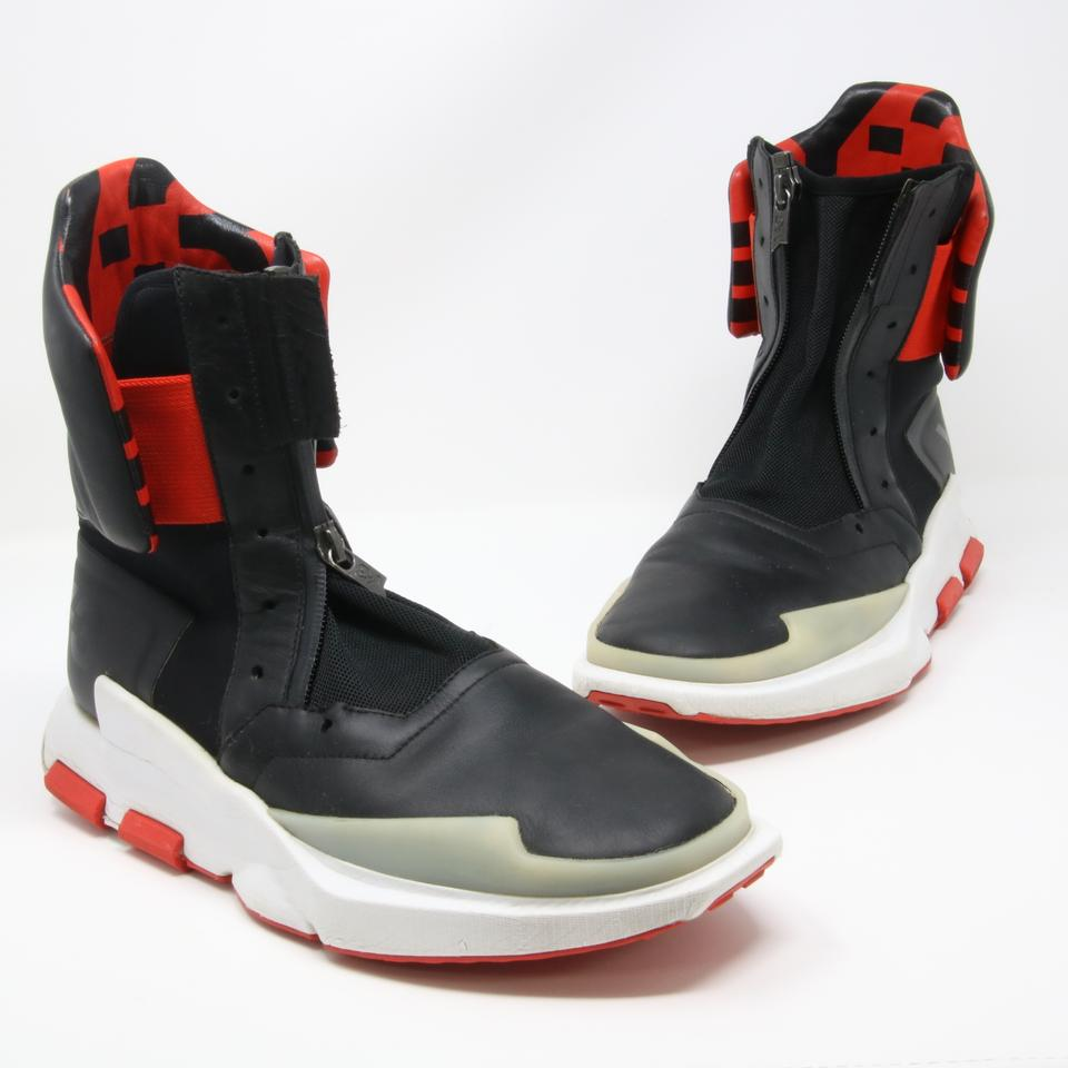 92e0ba2fd45a7 Y-3 Black and Red Adidas 2016 Noci 0003 High-top Sneakers Size US ...