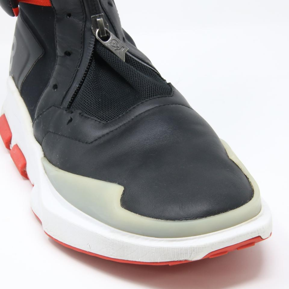 a6f544acef365 Y-3 Black and Red Adidas 2016 Noci 0003 High-top Sneakers Size US 7.5  Regular (M