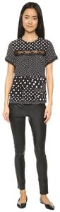 Marc by Marc Jacobs Top Black with white polka dots