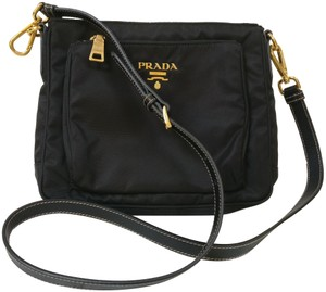 f1ce70b9e3b4fa Black Prada Cross Body Bags - Up to 90% off at Tradesy