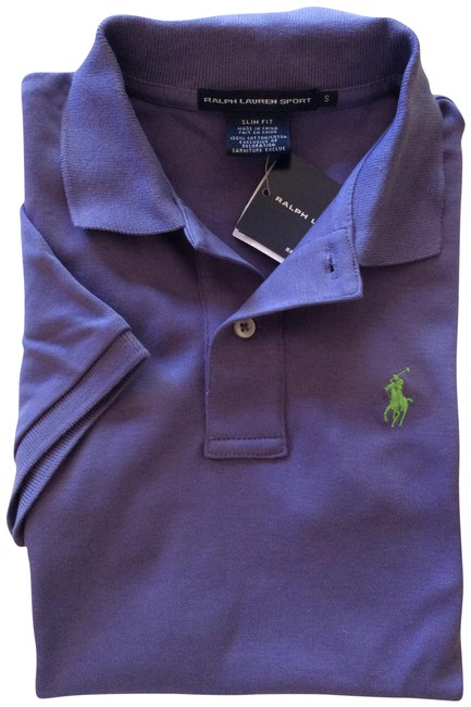 Item - Cruise Purple Slim-fit Polo New Grand Tee Shirt Size 4 (S)
