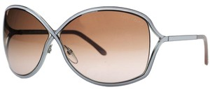 Tom Ford Tom Ford Pearl/Gold Oval Sunglasses