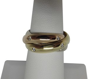 Cartier Cartier 3 band Trinity Ring 49, US 5