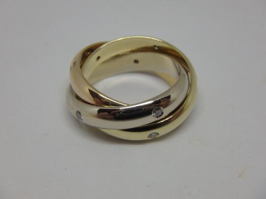 Cartier Cartier 3 band Trinity Ring 49, US 5 Image 5