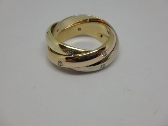 Cartier Cartier 3 band Trinity Ring 49, US 5 Image 6
